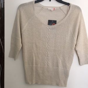 G By Guess Cable -Knit Sweater